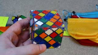 ZCube Unboxing: Fanxin Twisty 3x3, Dayan Tangram Extreme, & Dayan 4 Axis 7 Rank / Professor Skewb