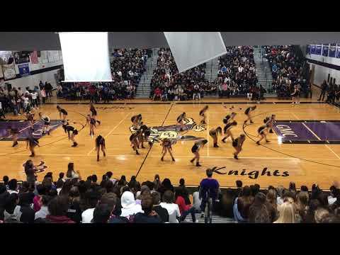 Old Bridge High School Dance Team Pep Rally 2017
