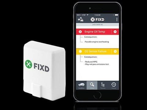 FIXD Review Car Diagnostic Tool APP Part 2 2017