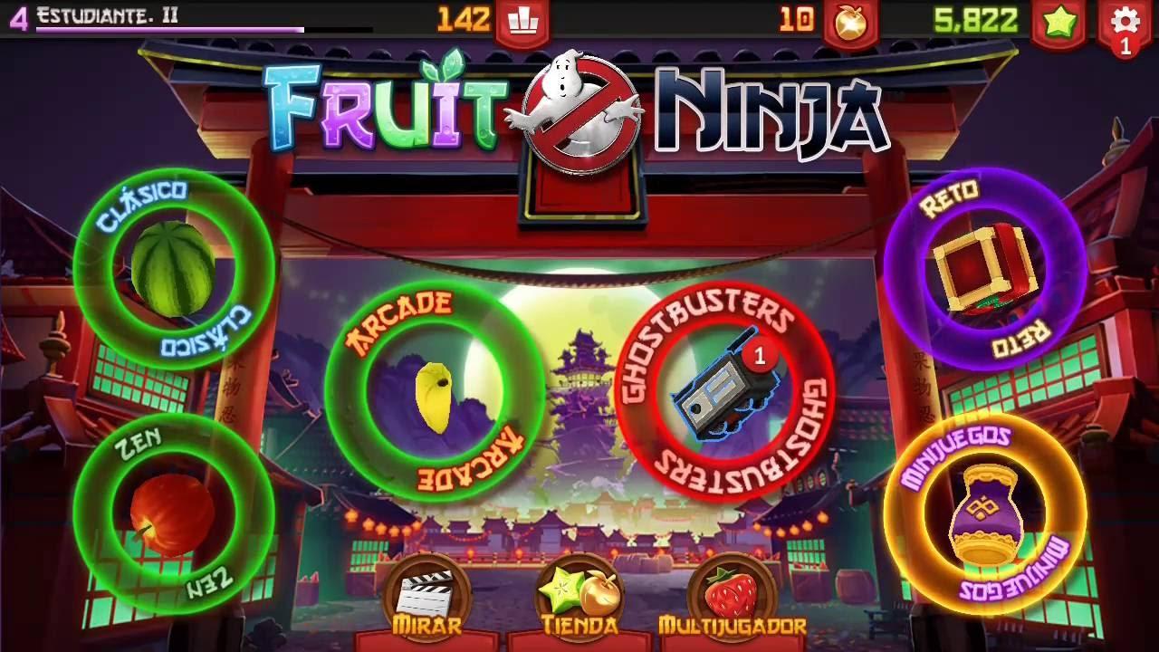 Fruit ninja free game - Huawei Gr3 Jugando Fruit Ninja Free Ghostbusters Parte 2