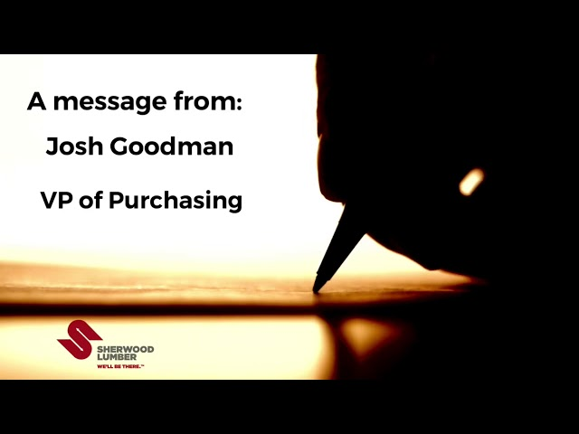 Do Your Part - From The Desk Of Josh Goodman