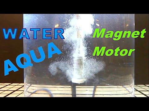 Magnet Motor Under Water!