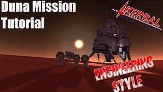 Kerbal Space Program - Duna Tutorial Engineering Style V1.0