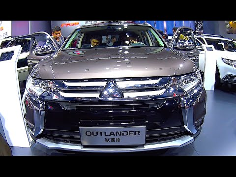 new video mitsubishi outlander 2016 2017 interior exterior youtube