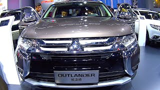 New video Mitsubishi Outlander 2016, 2017 interior, exterior