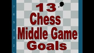 13 Chess Middle Game Strategic Goals
