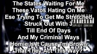 Conejo - States Waiting For Me (Ft. Bugsy 2 Guns)-WITH LYRICS ON SCREEN