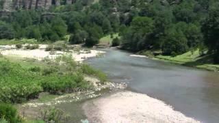 Rio Papigochi una belleza natural de la Sierra de Chihuahua. Visita el Mpio. De Guerrero