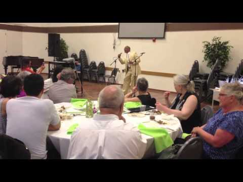 OCO 2013 Convention: Rev. Phil Lewis Singing