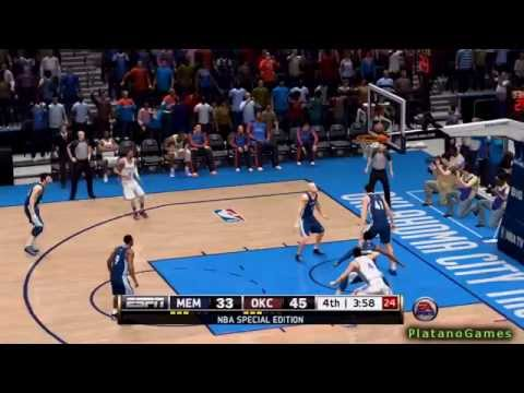 NBA Playoffs - Memphis Grizzlies vs Oklahoma City Thunder - Game 7 - 2nd Half - Live 14 - HD