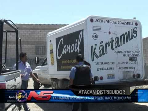 Atacan A Distribuidor De Productos De Aceites Comestibles