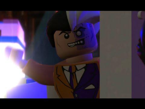 LEGO Batman 2: DC Super Heroes Walkthrough - Chapter 4 - Courtyard Clean-Up