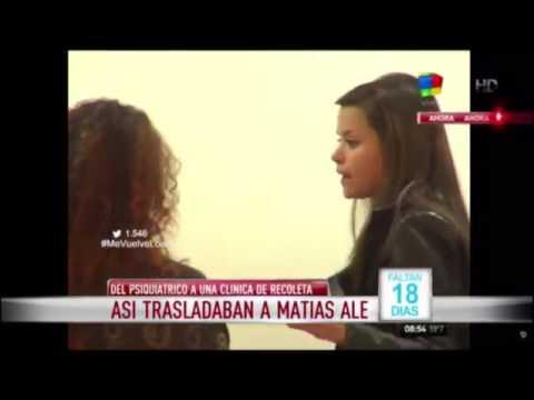 Matías Alé fue trasladado a otra clínica y está en terapia intensiva
