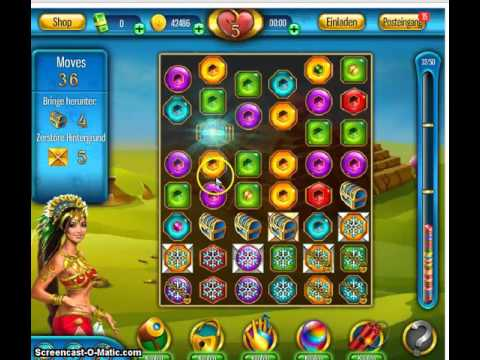 Lost Jewels Level 115  ohne Hilfen #Lost #Jewels #Game #Facebook