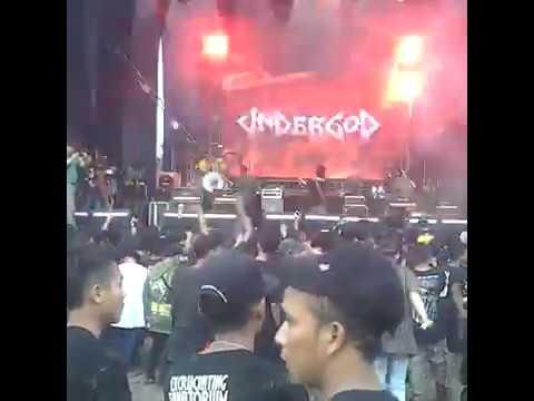 Undergod - Kudak Kadek + Aksi Potong Lidah + Debus Live at Hellprint United Day V