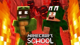 Minecraft School -  ESCAPING HELL!