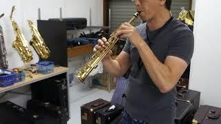 ソプラニーノサックス  ヤナギサワ SN600の試奏