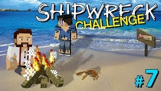 Minecraft: SHIPWRECK CHALLENGE #7 - IS THIS THE END? (with AshDubh)