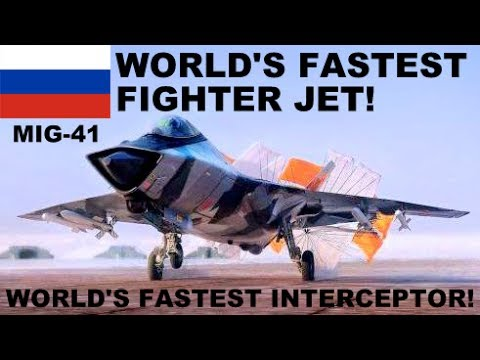 BREAKING : Russia Developing World's FASTEST Fighter Plane New MiG-41 Hypersonic Interceptor Fighter