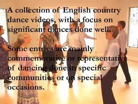 English Country Dancing Done Well