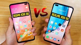 Realme X50 5G vs Redmi K30 5G - Battle of the 5G Phones