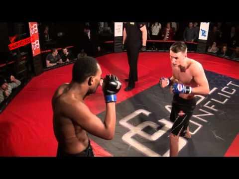 Cage Conflict 12 Joel Devant VS Tony Catterall SHAREFIGHT COM