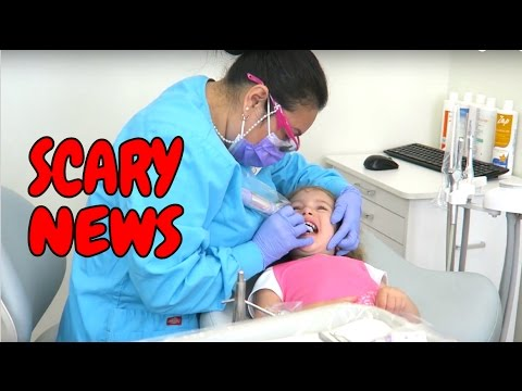 SCARY NEWS FROM THE DENTIST