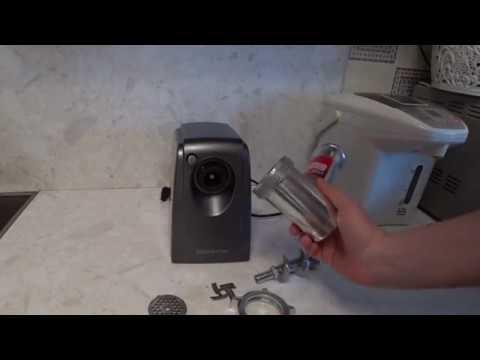 Как собрать мясорубку поларис электрическую