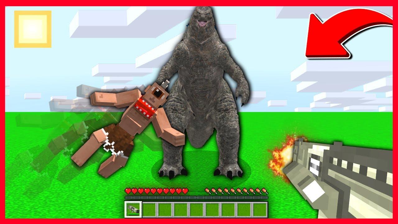 TEPEGÖZ GODZİLLA'YI SON ANDA KURTARDI! 😱 - Minecraft