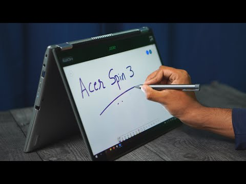 """Review: Acer Spin 3 14"""" 2-in-1 Convertible Laptop with Active Stylus Pen (2021)"""