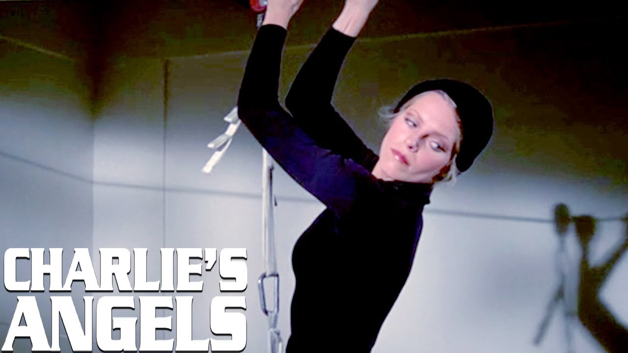 The Angels Carry Out The Perfect Heist | Charlie's Angels