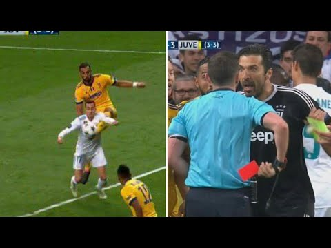 REAL-JUVENTUS: Rouge Buffon. Penalty Ronaldo, But matuidi, arbitrage incroyable real madrid juventus