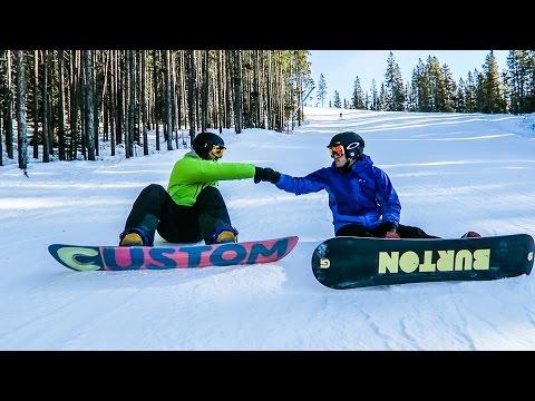 LAKE LOUISE SNOWBOARDING!