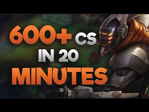 CAN WE HIT 700 CS IN 20 MINUTES??!! (WORLD RECORD) MOST CS IN 20 MINUTES EVER (Custom)