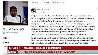MARCEL CIOLACU A DEMISIONAT