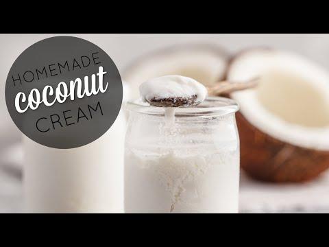 Homemade Coconut Cream