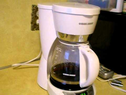 Coffee Maker Just Stopped Working : Black and Decker Coffee Maker Review - YouTube