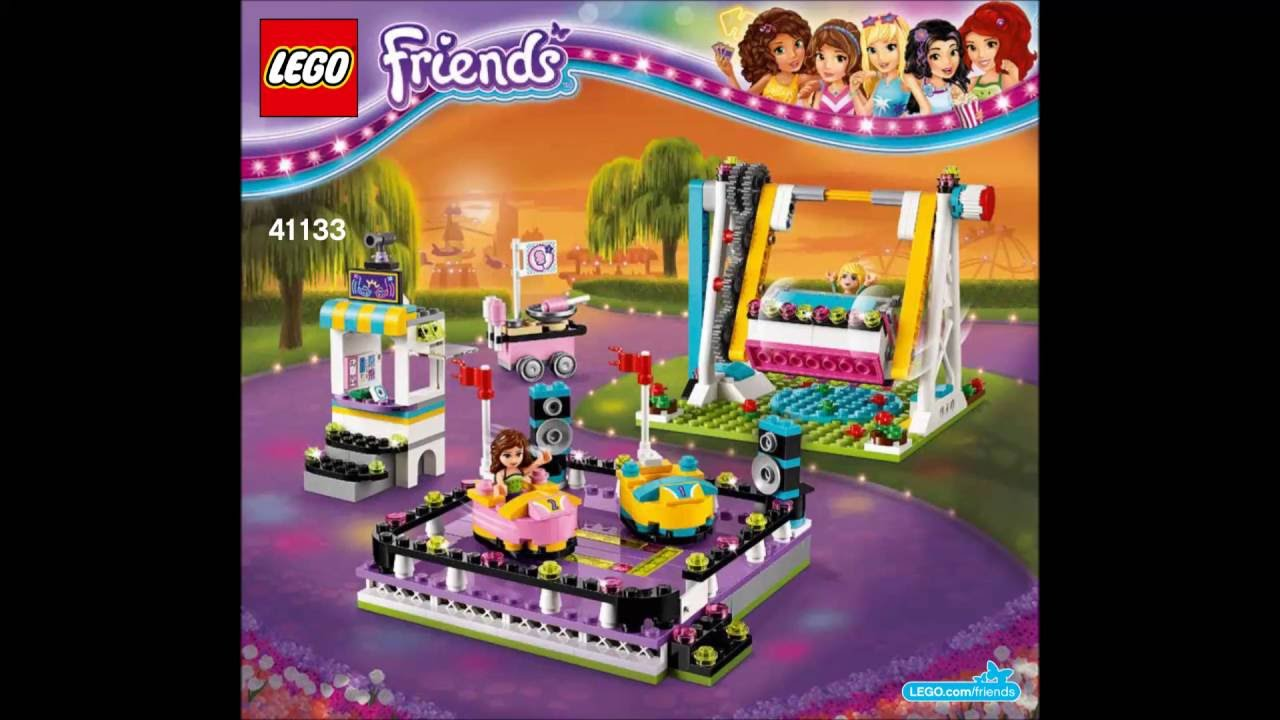 Lego Friends 41133 Amusement Park Bumper Cars Building