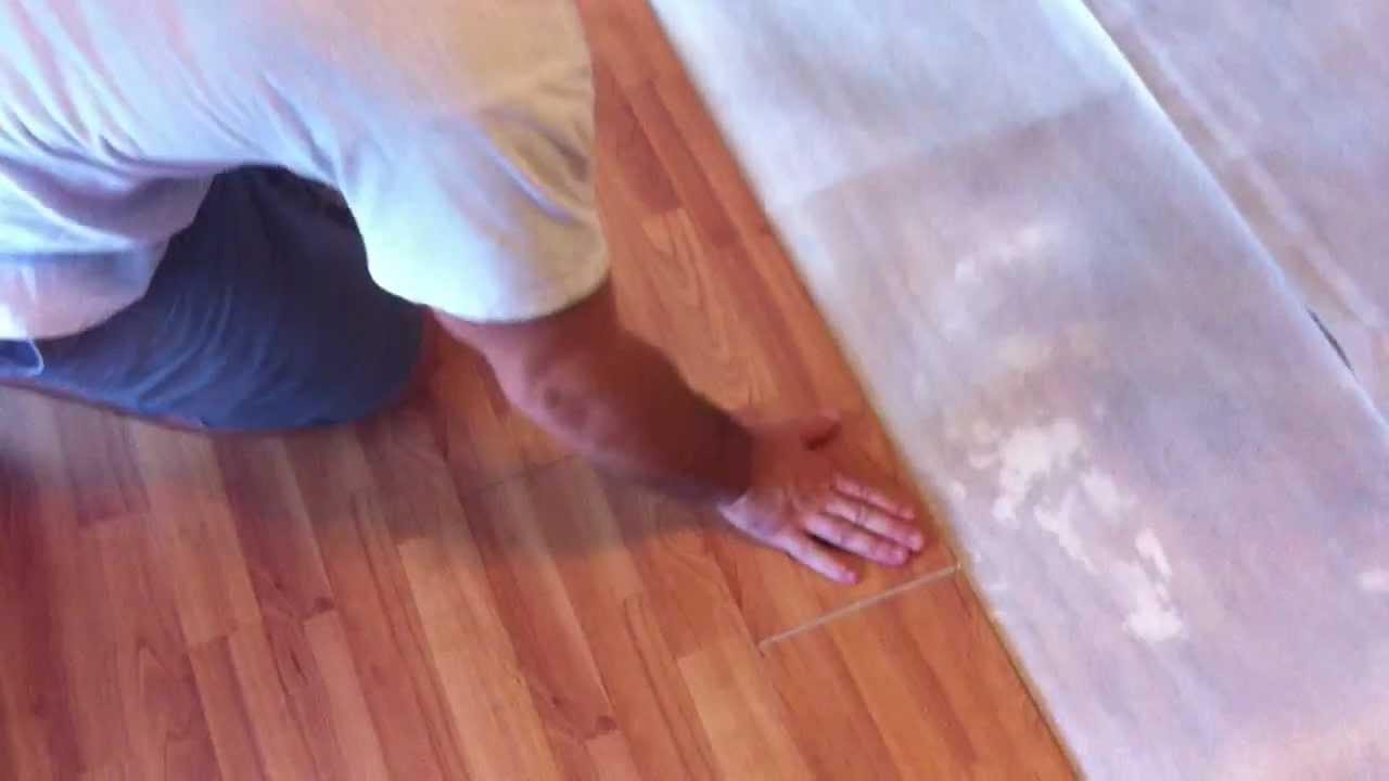 How to install laminate floors using a tapping block youtube dailygadgetfo Images