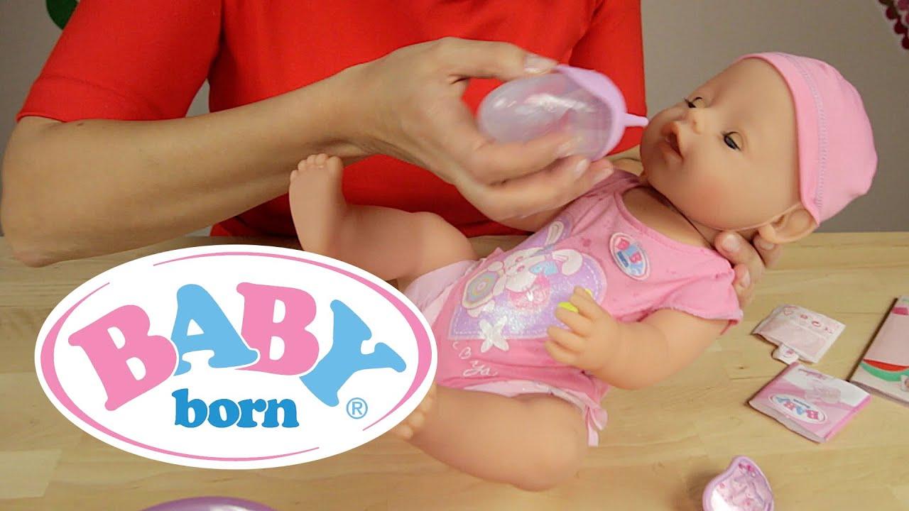 Baby Born Lalka Interaktywna Dziewczynka 819197 Youtube