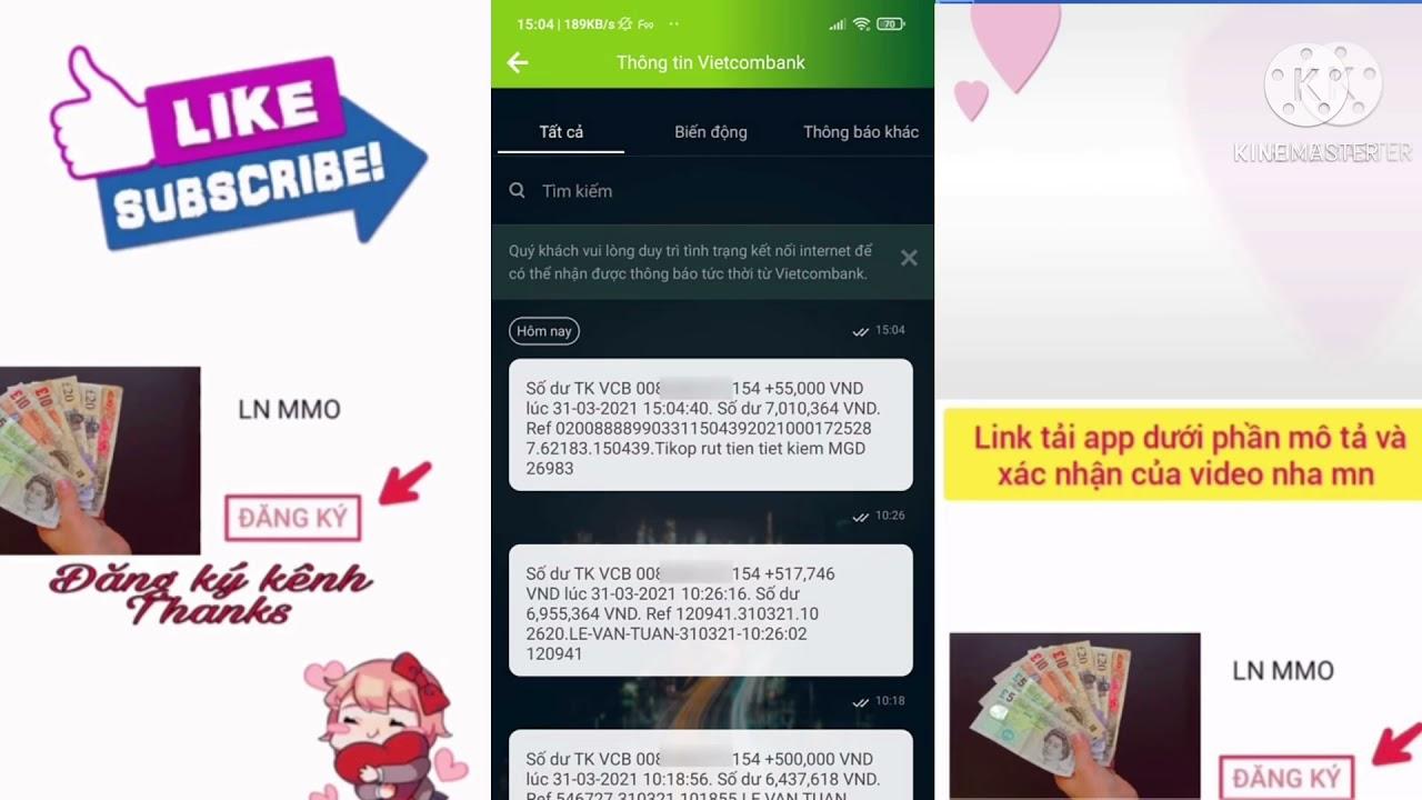 Hướng Dẫn Kiếm Tiền Và Rút Tiền Trên App Tikop - LVT | Kiếm Tiền $$