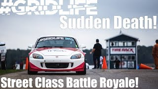 SUDDEN DEATH! Gridlife Street Class Battle Royale!