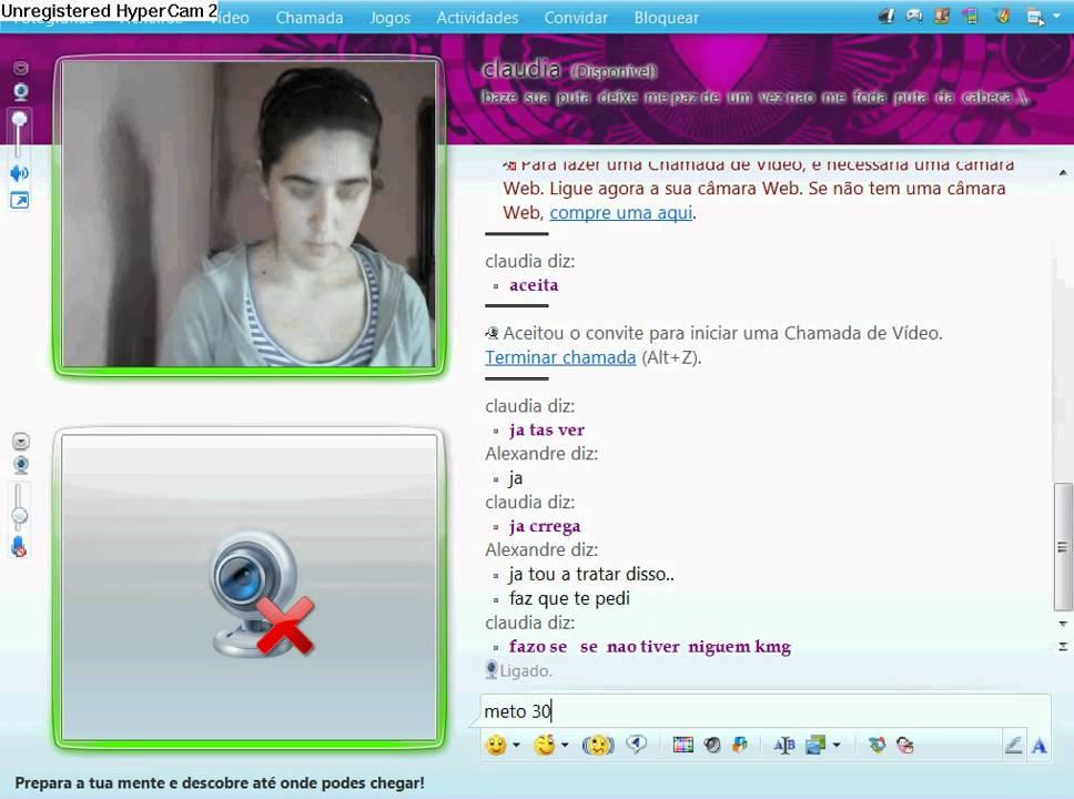 Safadas na webcam