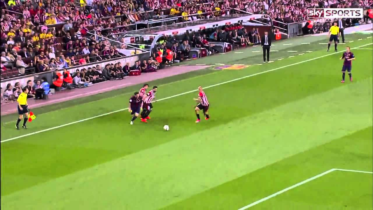 Download Messi Incredible Goal vs Athletic Bilbao - English Commentary