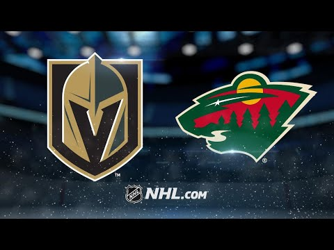 Staal scores twice as Wild beat Golden Knights, 5-2