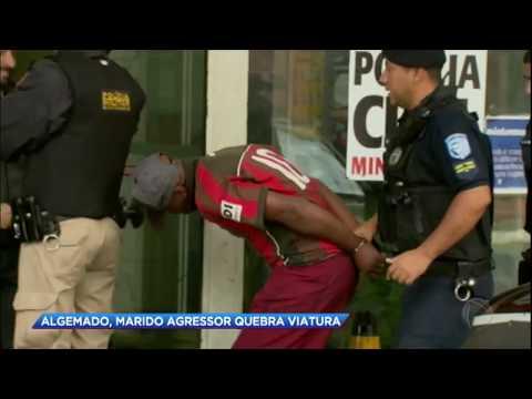 Homem é preso após agredir esposa e filho de 8 anos