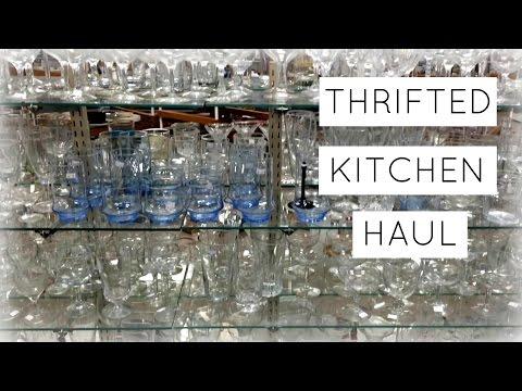 Thrifted Kitchen Supplies {Vlog}