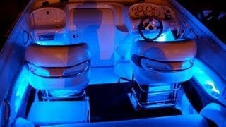 Download Blue LED Boat Kit Interior Waterproof and WIreless by LizardLeds Mp3 and Videos