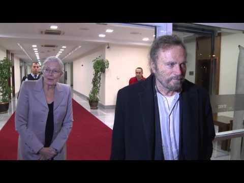Vanessa Redgrave Franco Nero Antalya Film Festivalinde