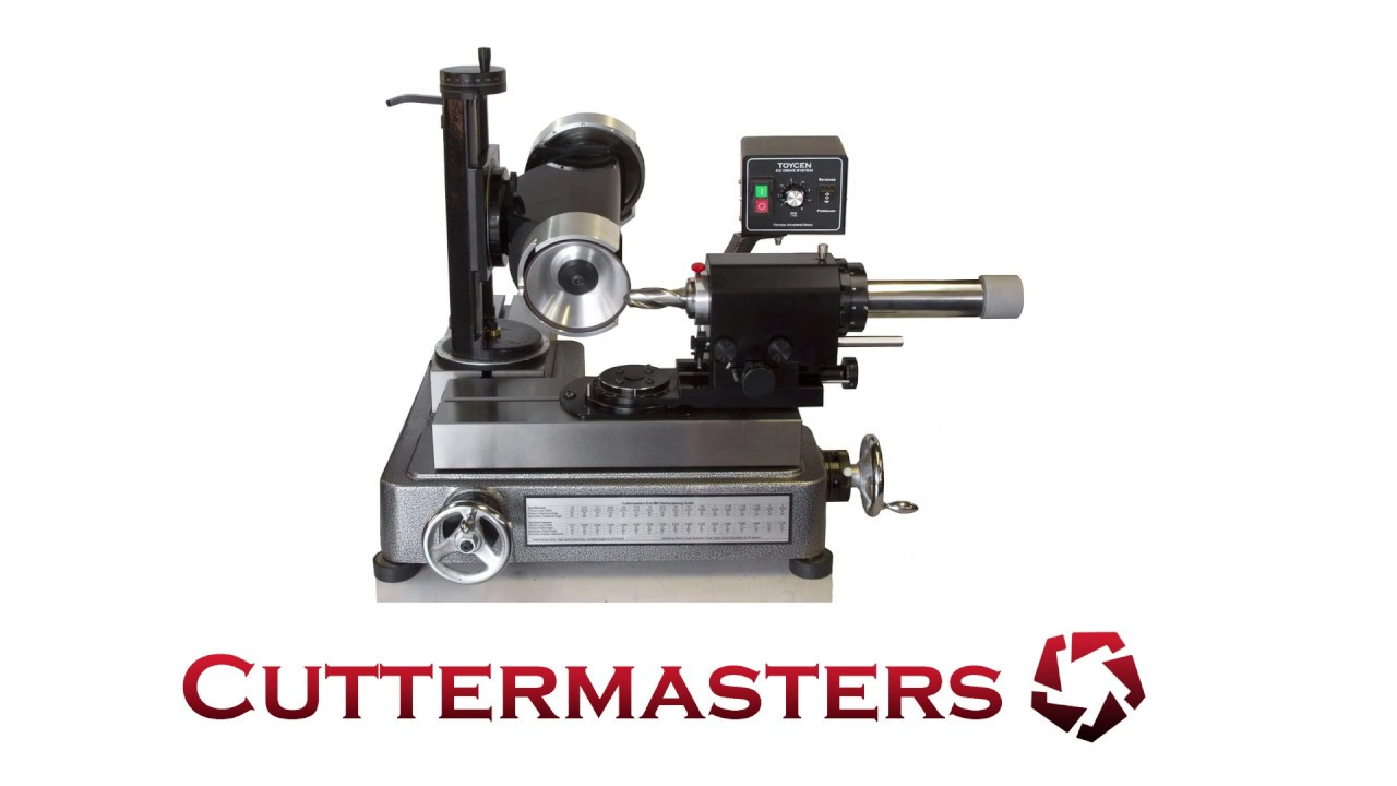 CM-08 Taper Attachment for Cuttermaster-Style Tool Grinders New